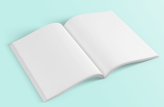 Free Blank Magazine Mockups PSD - TitanUI With Blank Magazine Template Psd Inside Blank Magazine Template Psd