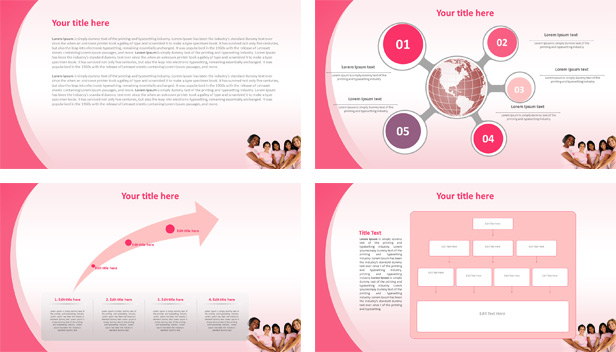 Free Breast Cancer Powerpoint Template and Presentation Within Breast Cancer Powerpoint Template With Breast Cancer Powerpoint Template