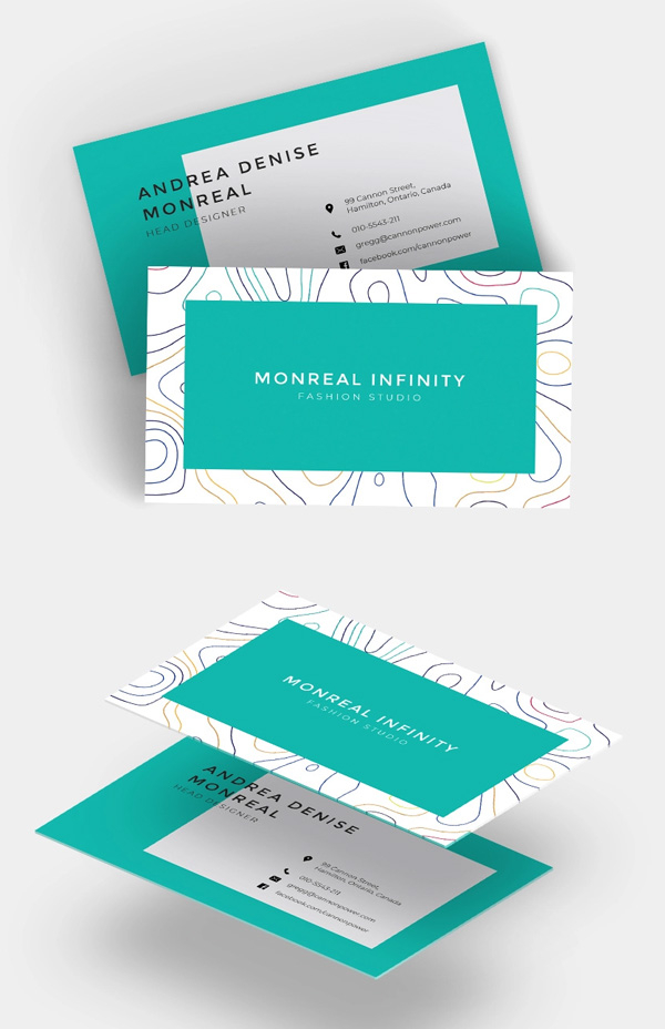 Free Business Cards PSD Templates - Print Ready Design  Freebies  Inside Free Template Business Cards To Print Within Free Template Business Cards To Print