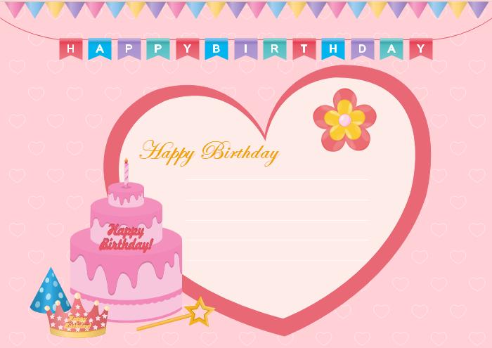 Free Editable and Printable Birthday Card Templates With Birthday Card Template Microsoft Word Throughout Birthday Card Template Microsoft Word
