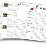 FREE FREE Book Report Template Throughout Book Report Template 3rd Grade