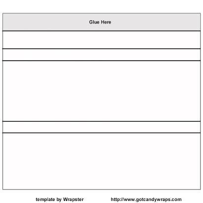 Free hershey bar template wrapper Inside Free Blank Candy Bar Wrapper Template For Free Blank Candy Bar Wrapper Template