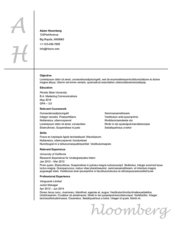 FREE High School Student Resume Examples, Guide and Tips  Hloom With High Resume Templates What To Look For With High Resume Templates What To Look For