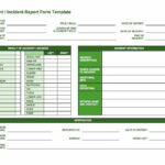 Free Incident Report Templates & Forms  Smartsheet Pertaining To Car Damage Report Template