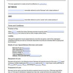 Free Loan Agreement Template For Blank Loan Agreement Template