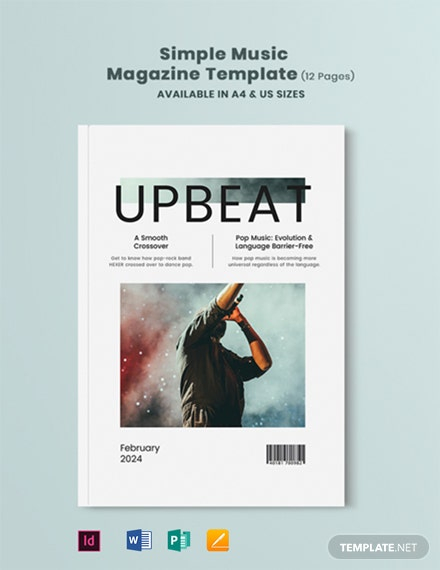 FREE Magazine Templates in Microsoft Word (DOC)  Template Inside Magazine Template For Microsoft Word