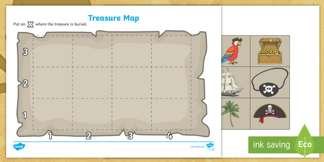 FREE! - Pirate Treasure Map Template Throughout Blank Pirate Map Template For Blank Pirate Map Template