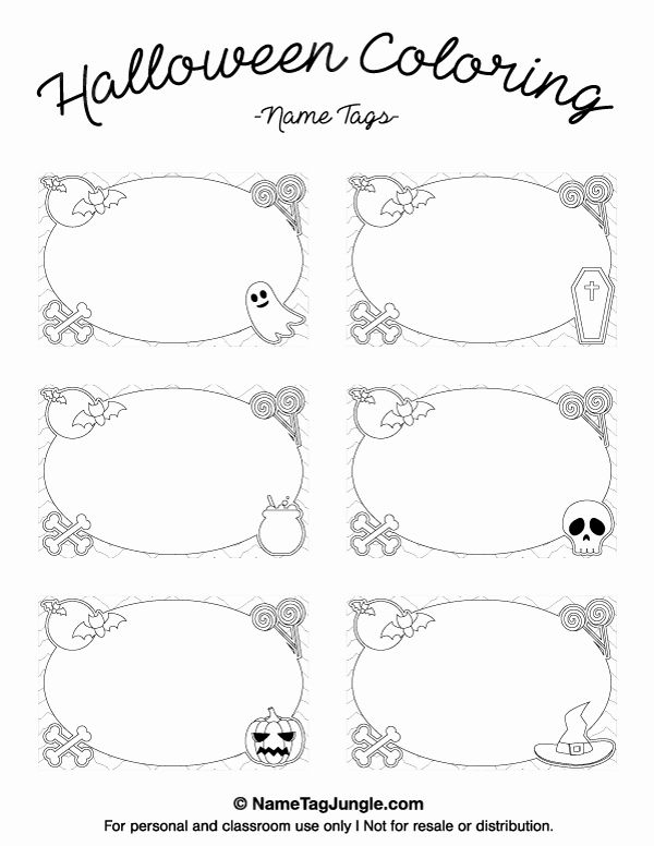 Free Place Card Template 11 Per Sheet Fresh Printable Halloween  Intended For Place Card Template 6 Per Sheet In Place Card Template 6 Per Sheet