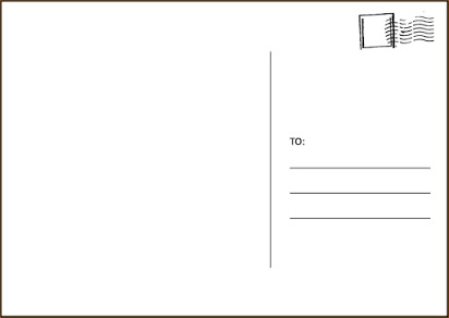 Free postcard template for word Within Free Blank Postcard Template For Word With Regard To Free Blank Postcard Template For Word