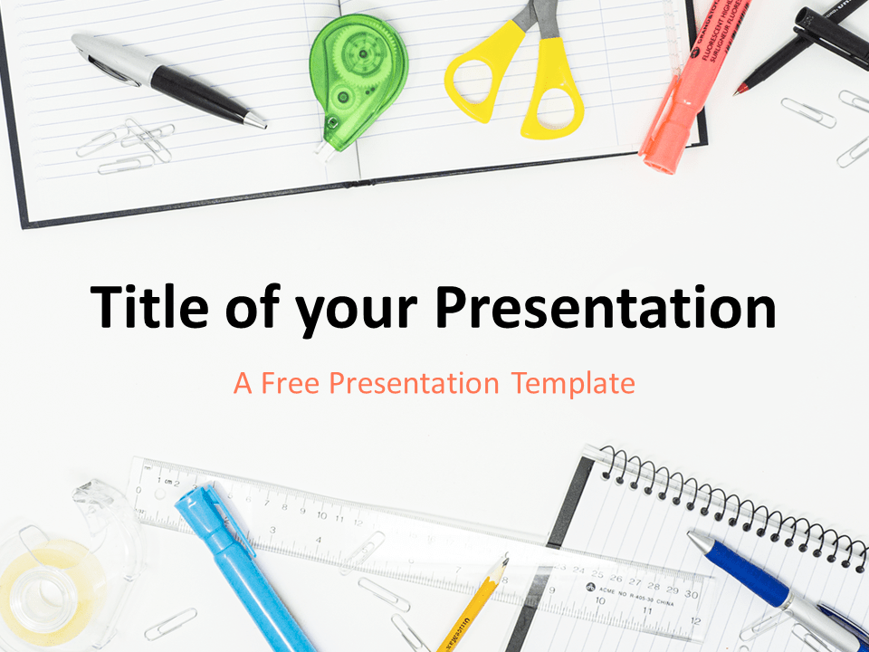 Free PowerPoint Templates about Back to School - PresentationGo Regarding Back To School Powerpoint Template