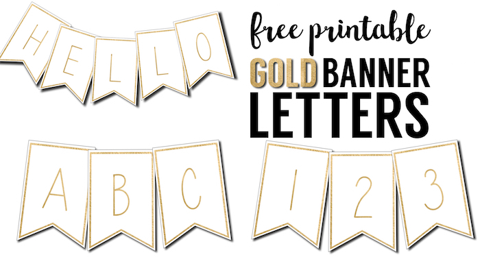 Free Printable Banner Letters Templates  Paper Trail Design For Printable Letter Templates For Banners In Printable Letter Templates For Banners