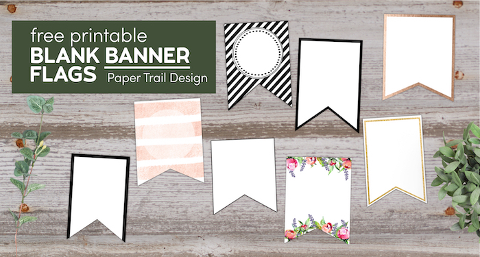 Free Printable Banner Templates Blank Banners  Paper Trail Design With Free Blank Banner Templates Regarding Free Blank Banner Templates