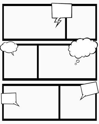 Free printable blank comic strip template Inside Printable Blank Comic Strip Template For Kids For Printable Blank Comic Strip Template For Kids
