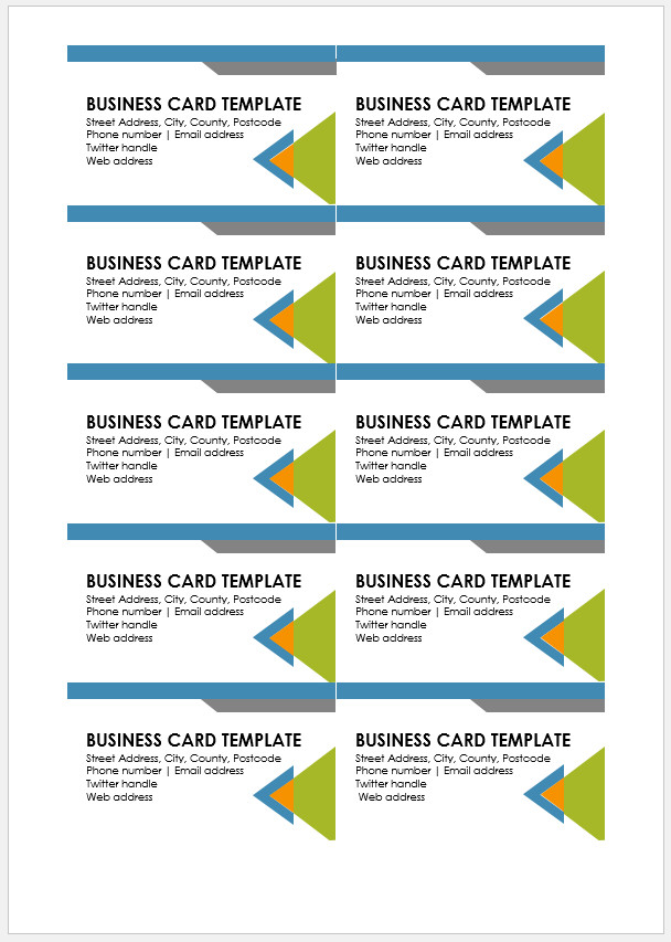 √ Free Printable Business Card Template  Templateral With Free Template Business Cards To Print For Free Template Business Cards To Print