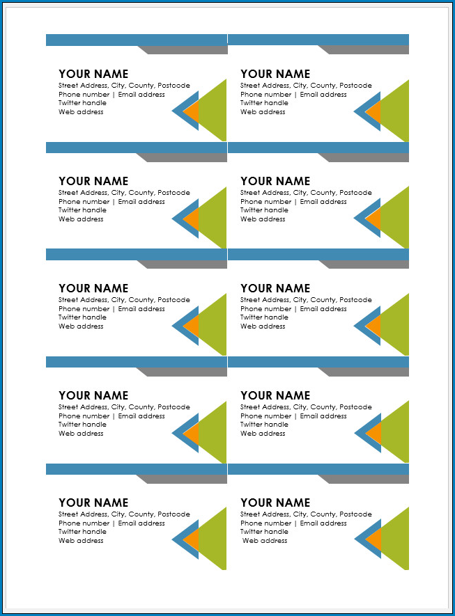 ✓ Free Printable Business Card Template Word  ZiTemplate Within Free Editable Printable Business Card Templates Pertaining To Free Editable Printable Business Card Templates