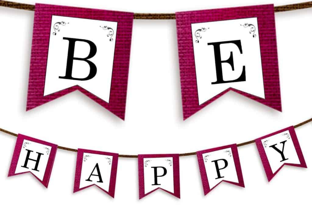 Free Printable Letter Banners For Anything - In Printable Letter Templates For Banners