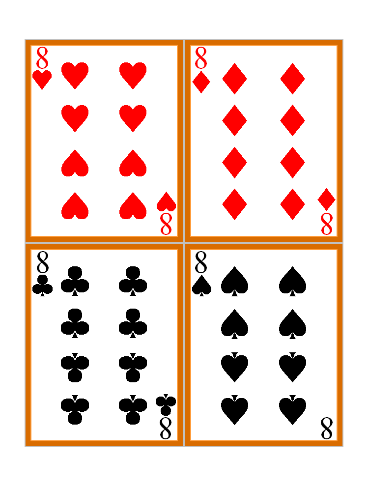 free printable playing cards - Clip Art Library In Free Printable Playing Cards Template Inside Free Printable Playing Cards Template
