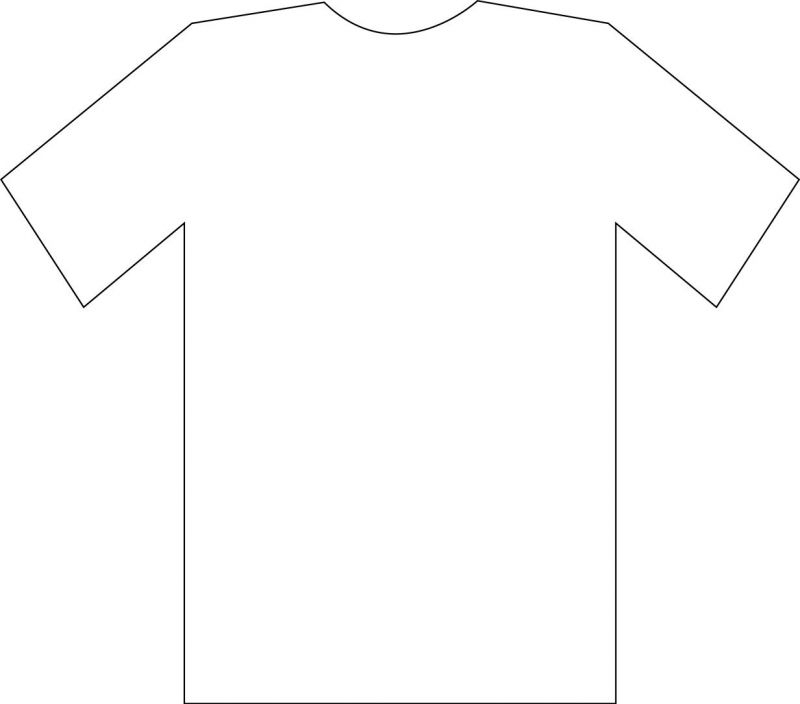 Free Printable T-shirt Template, Download Free Clip Art, Free Clip  For Printable Blank Tshirt Template Regarding Printable Blank Tshirt Template