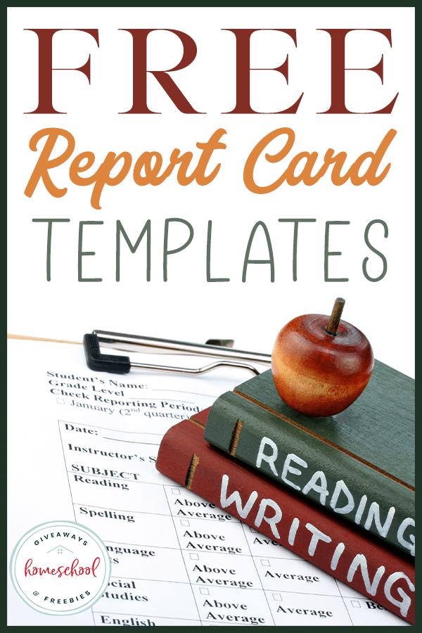 FREE Report Card Templates - Homeschool Giveaways Regarding Homeschool Report Card Template Inside Homeschool Report Card Template