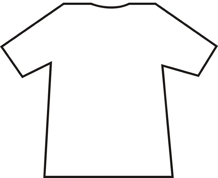 Free T Shirt Printing Templates, Download Free Clip Art, Free Clip  Pertaining To Blank Tshirt Template Printable With Regard To Blank Tshirt Template Printable