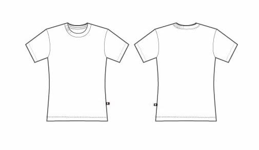 Free T Shirt Template Printable, Download Free Clip Art, Free Clip  With Blank Tshirt Template Printable With Regard To Blank Tshirt Template Printable