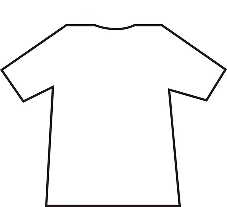 Free T Shirt Template Printable, Download Free Clip Art, Free Clip  With Regard To Blank Tshirt Template Pdf In Blank Tshirt Template Pdf