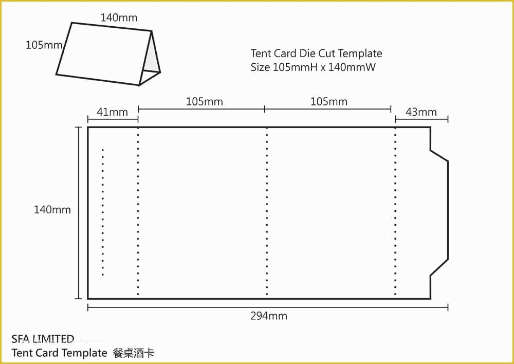 Free Table Tent Card Template  vincegray11 Regarding Table Tent Template Word For Table Tent Template Word