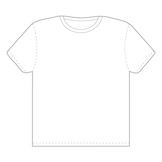 Free Tee Shirt Outline, Download Free Clip Art, Free Clip Art on  For Blank T Shirt Outline Template Inside Blank T Shirt Outline Template