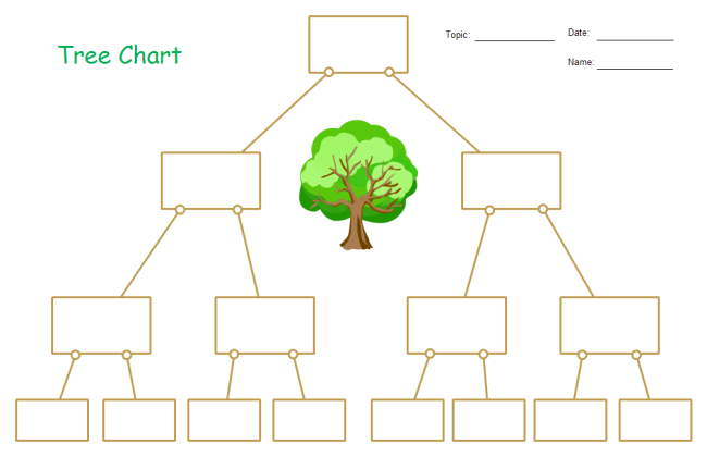 Free Tree Diagram Examples Download With Regard To Blank Tree Diagram Template Within Blank Tree Diagram Template