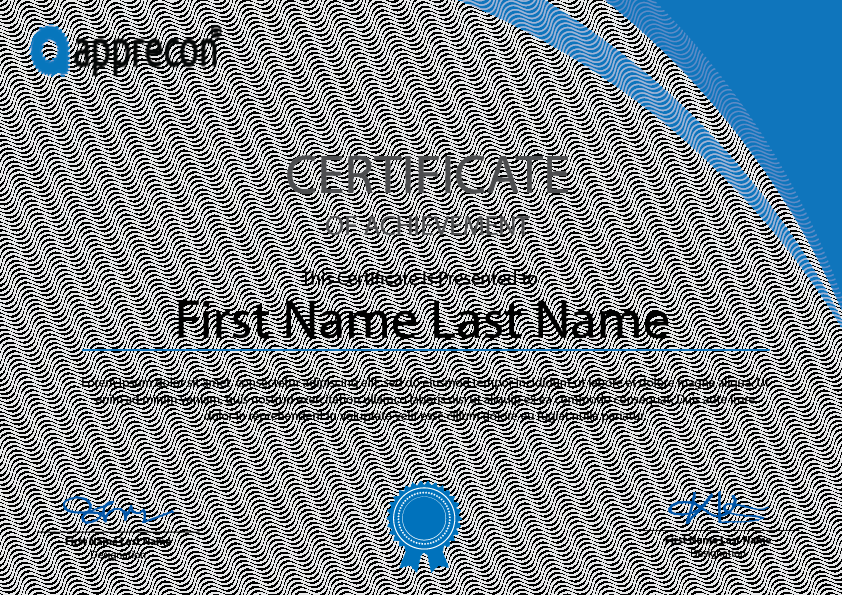 Freebies - Certificate Template Free Download on Behance Throughout Blank Certificate Templates Free Download