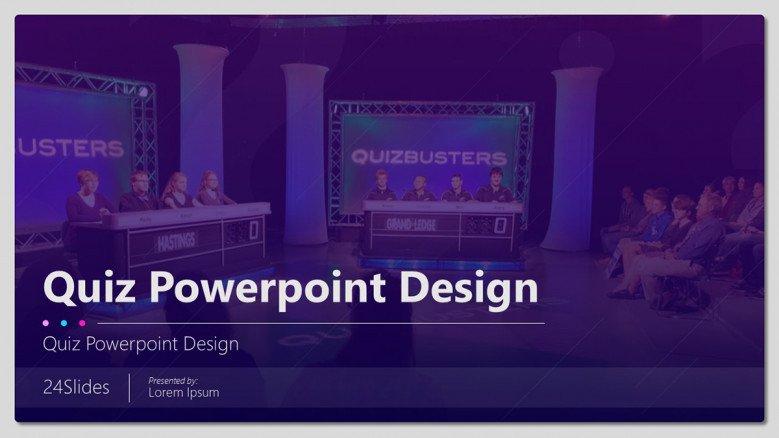 Fun Quiz  Free PowerPoint Template Within Quiz Show Template Powerpoint Pertaining To Quiz Show Template Powerpoint
