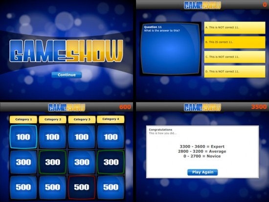 Game Show Templates For Powerpointfor 11  The highest quality  Regarding Quiz Show Template Powerpoint Intended For Quiz Show Template Powerpoint