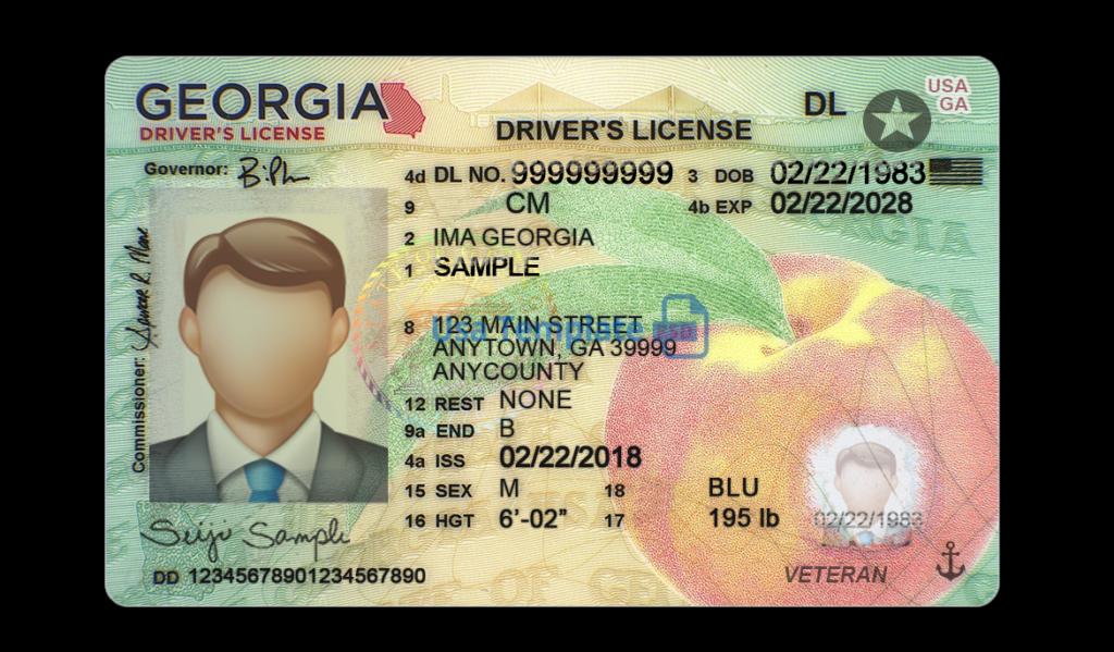 Georgia driving license psd template New Version:High quality template Regarding Georgia Id Card Template Throughout Georgia Id Card Template