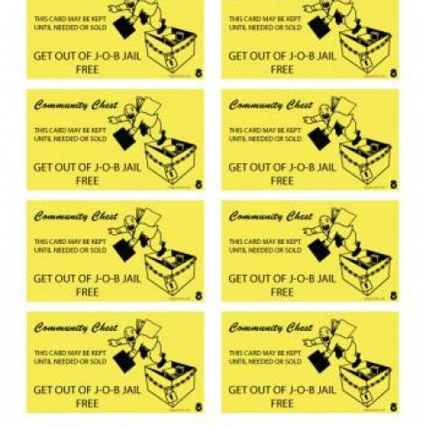 Get Out Jail Free Card Template (Page 11) - Line.11QQ Regarding Get Out Of Jail Free Card Template