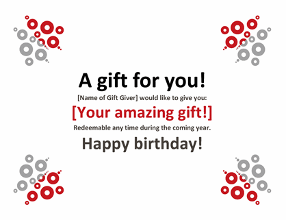 Gift certificate In Microsoft Gift Certificate Template Free Word For Microsoft Gift Certificate Template Free Word