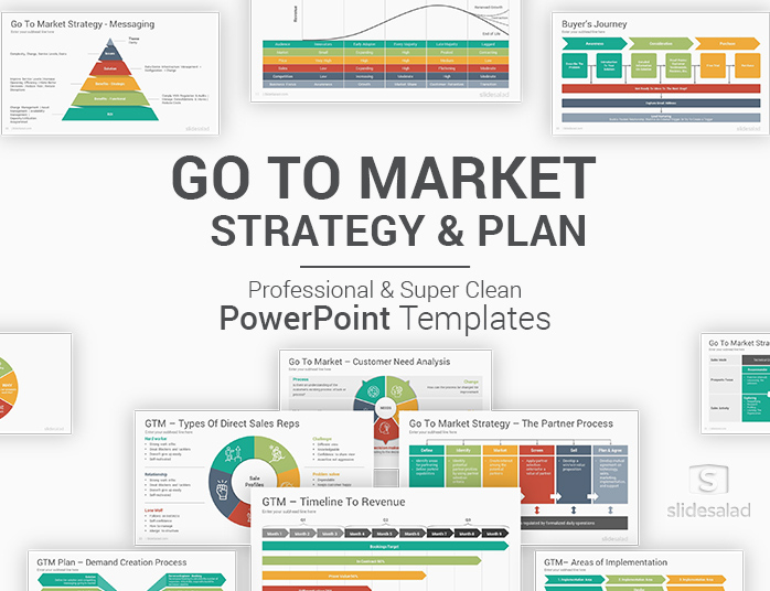 Go To Market Strategy and Plan PowerPoint Templates - SlideSalad In Strategy Document Template Powerpoint For Strategy Document Template Powerpoint