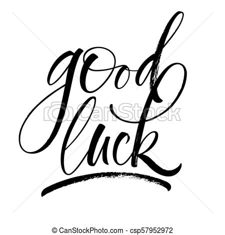 Good Luck Lettering Regarding Good Luck Banner Template Regarding Good Luck Banner Template