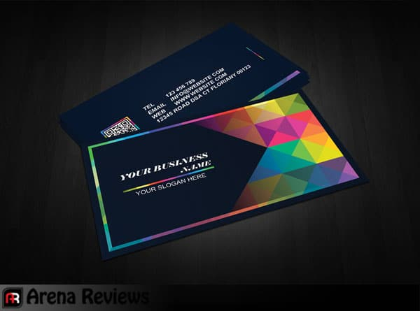 Graphic Design Business Card Template - Free Download  ArenaReviews With Visiting Card Templates Psd Free Download Pertaining To Visiting Card Templates Psd Free Download