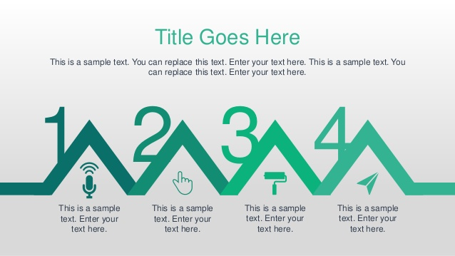 Green Animated Business PowerPoint Template Within Powerpoint Replace Template