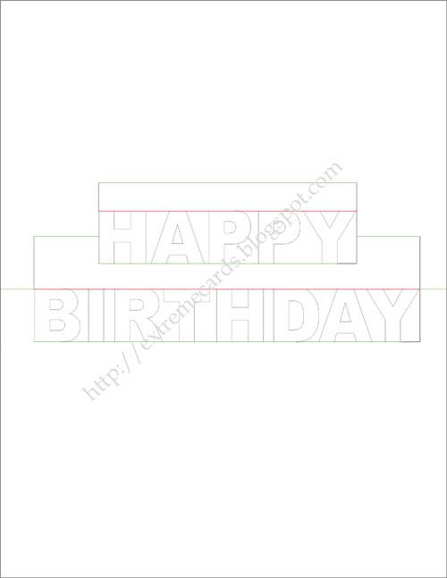Happy Birthday Pop Up Card Regarding Free Pop Up Card Templates Download For Free Pop Up Card Templates Download