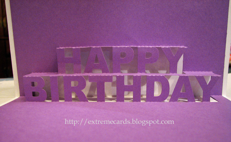 Happy Birthday Pop Up Card Within Happy Birthday Pop Up Card Free Template