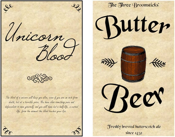 Harry Potter Inspired Potion Labels In Harry Potter Potion Labels Templates Pertaining To Harry Potter Potion Labels Templates