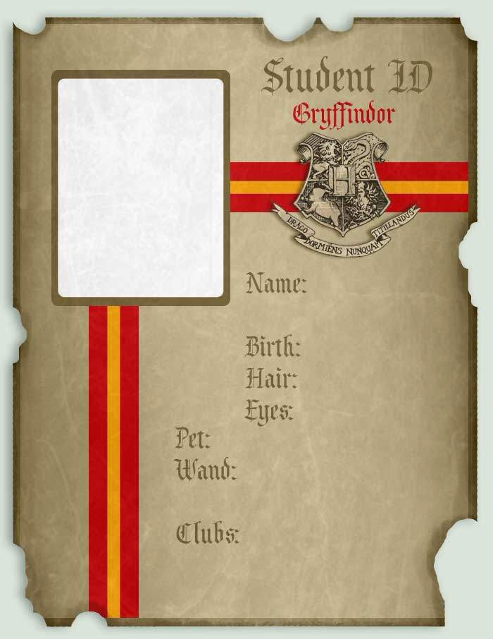 Hogwarts ID and Diploma Templates  Harry Potter Amino For Harry Potter Certificate Template Throughout Harry Potter Certificate Template