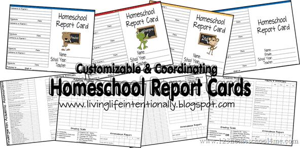 Homeschool Report Cards Inside Homeschool Report Card Template With Regard To Homeschool Report Card Template