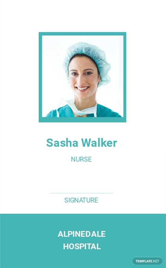 Hospital Staff ID Card Template [Free PDF] - Word  PSD  Apple  Within Hospital Id Card Template Regarding Hospital Id Card Template