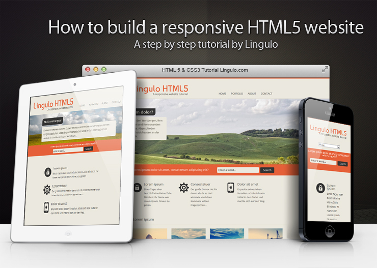 How to build a responsive HTML11 website - a step by step tutorial With Regard To Step By Step Instructions To Set Up A Professional Website On Your Own Using Web Templates With Regard To Step By Step Instructions To Set Up A Professional Website On Your Own Using Web Templates