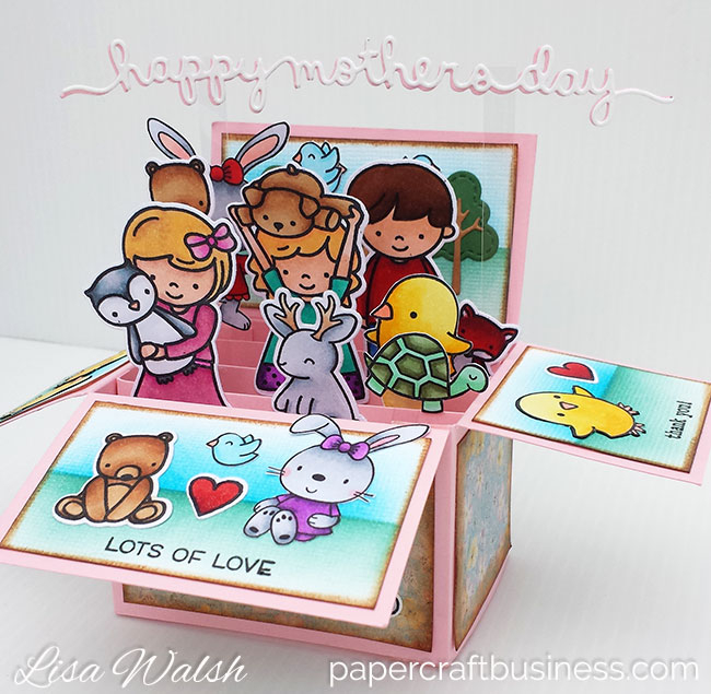 How to Create a Pop Up Box Card - Papercraft Business With Pop Up Box Card Template Within Pop Up Box Card Template
