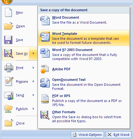 How to Create a Template With Button Template For Word With Regard To Button Template For Word