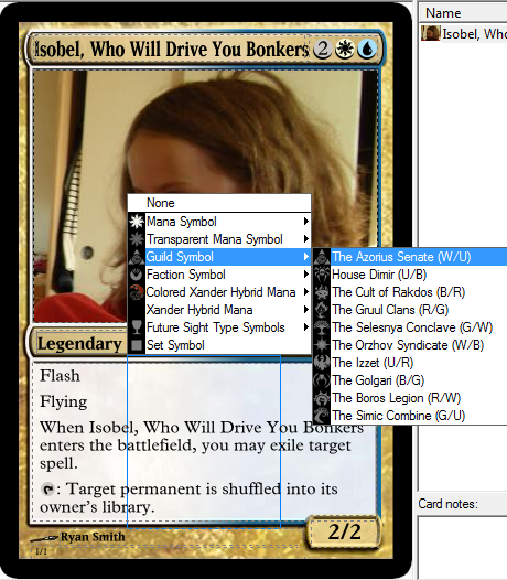 How To Design Your Own Magic: The Gathering Card Using Magic Set  With Magic The Gathering Card Template Intended For Magic The Gathering Card Template