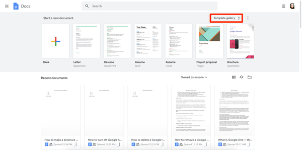 How to make a brochure on Google Docs Inside Google Drive Brochure Templates For Google Drive Brochure Templates